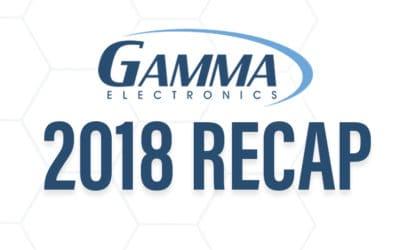 Gamma Electronics 2018 Recap
