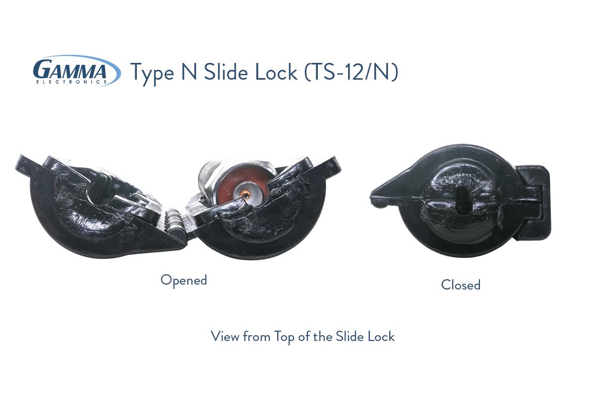 Gamma Type N Slide Lock Dimensions