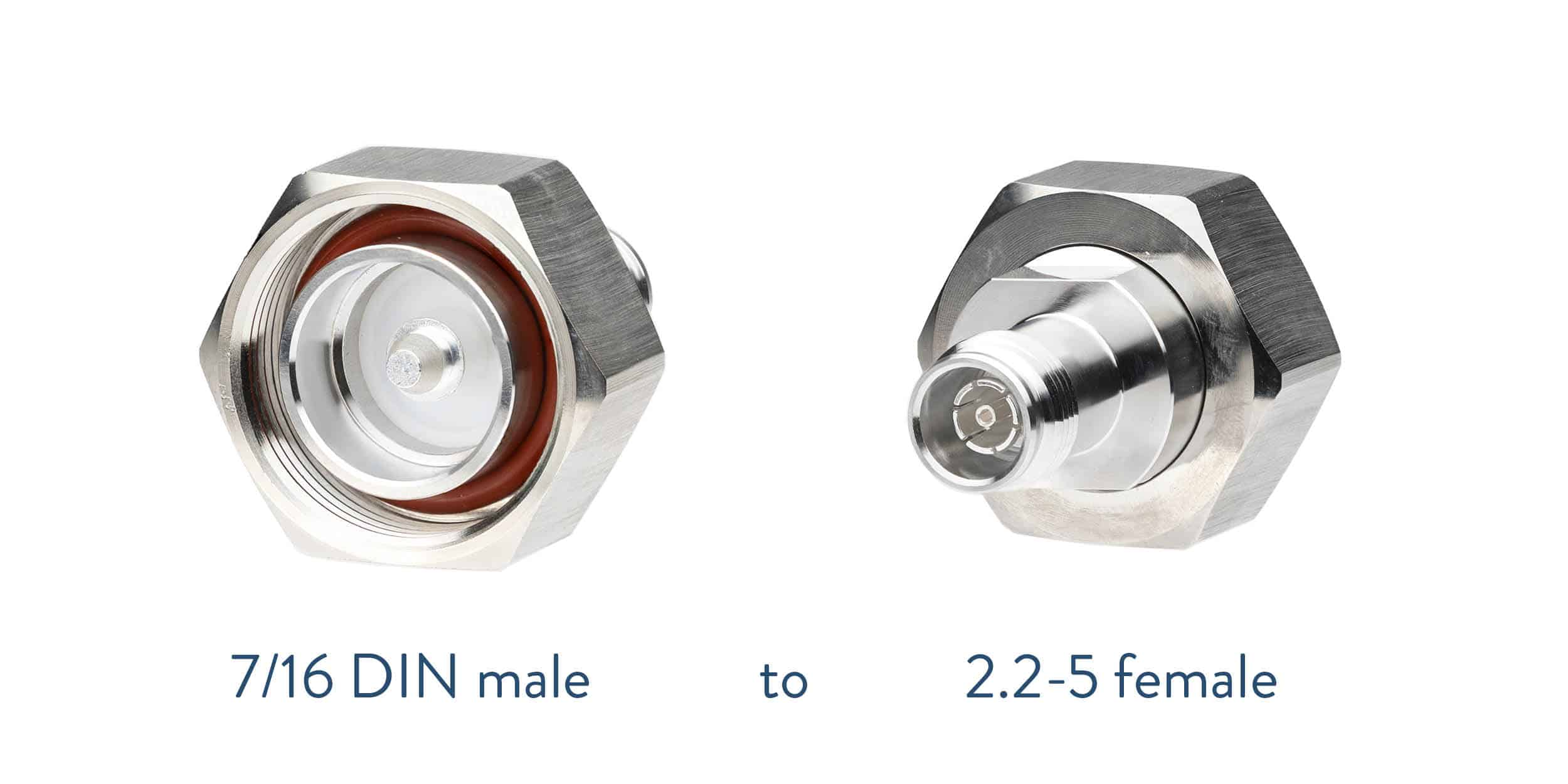 7/16 DIN to 2.2-5 adapter