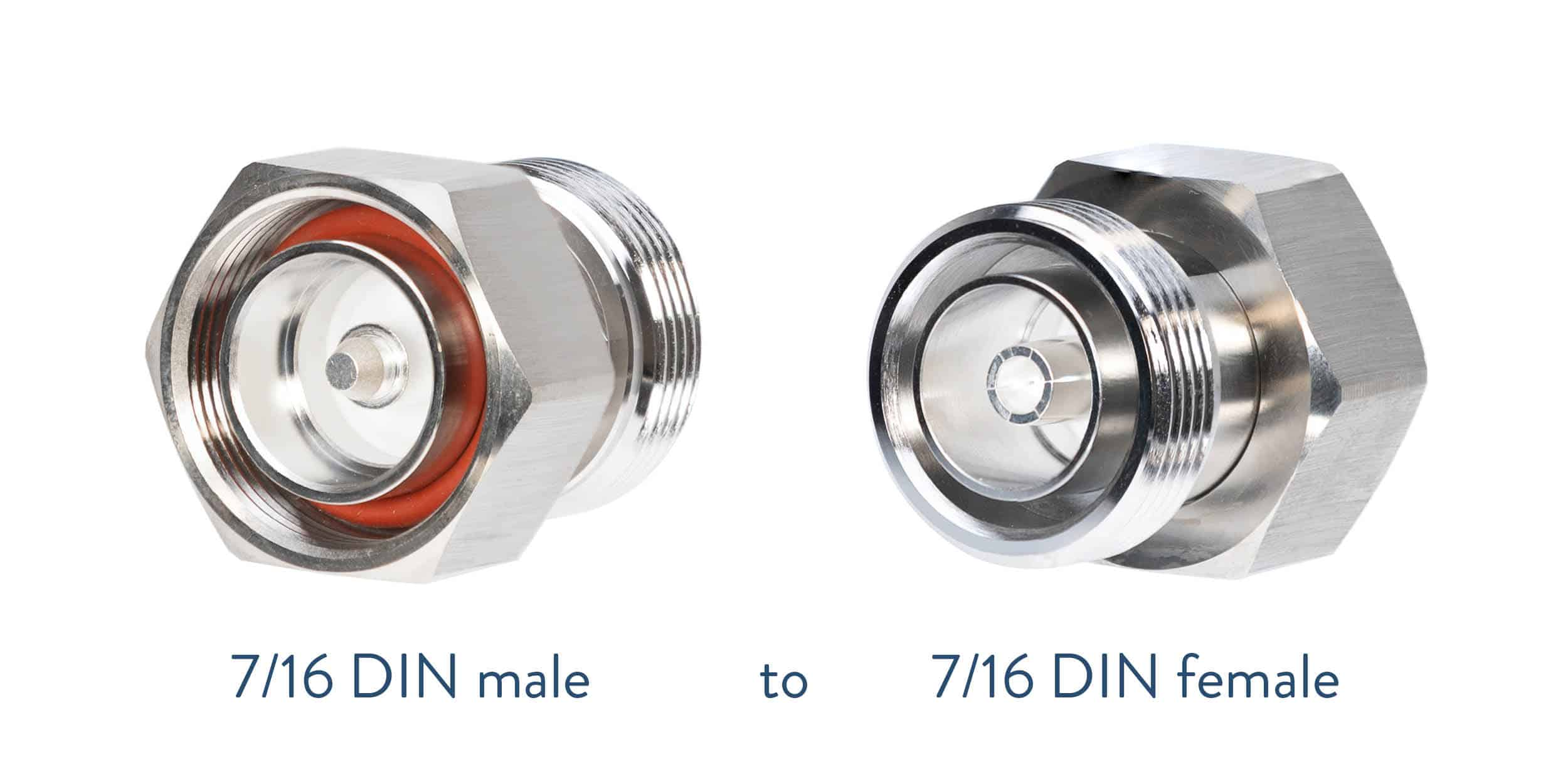 7/16 DIN to 7/16 DIN adapter