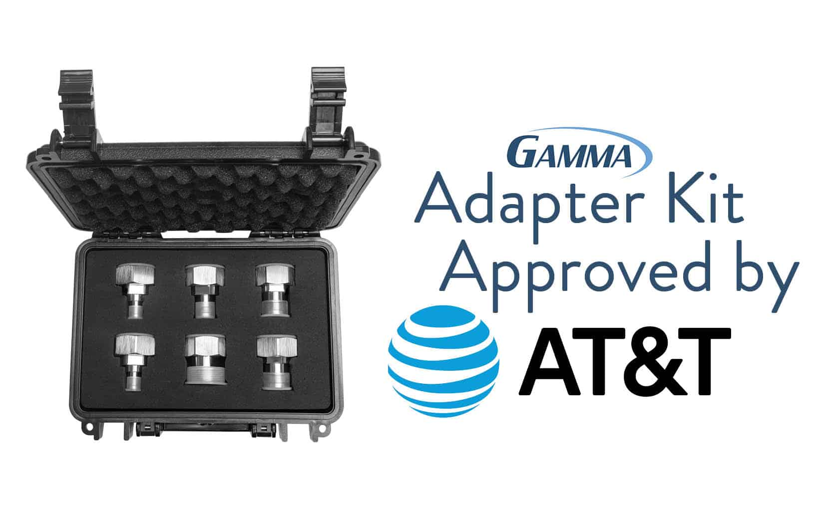 Gamma Adapter Kit Approved by AT&T
