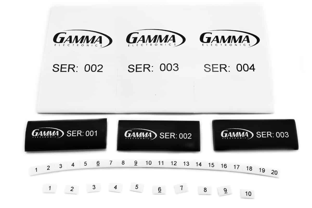 Gamma Electronics Thermal Transfer Printer Labels